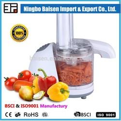 Special design 150W DC motor plastic mini electric food chopper