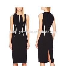 G1891 promotional tight dress vintage european sexy stylish mature ladies dresses brand pencil dress