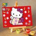 Enfants artisanat kits mini peinture à l'huile voilier