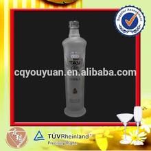 2014 attractive vodka bottle glass unique