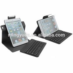 360 Degree Rotating Crocodile Pattern PU leather case and Bluetooth 3.0 Keyboard For Ipad mini