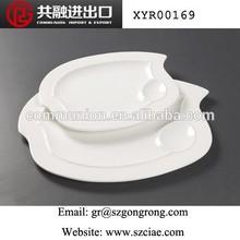 high quality bulk ceramic flat dinner plate