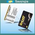 Noir imprimé pré- payés cartes à gratter de téléphone