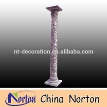 Flower carved beautiful stone columns NTMF-C161