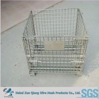 galvanized folding cage for storage