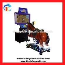 2014 Original IC board Stimulator Racing Game, Horse riding game machine, vibrate horse riding machine
