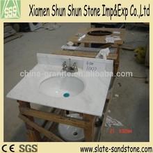 Arabescato white bathroom granite/marble vanity tops