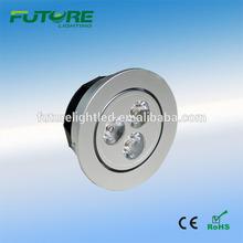 torsion spring for led downlight 3w recessed mounted led cabinet lights