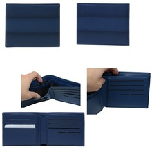Factory Wholesale New Design High Quality Men Leather Wallet