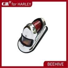 For HARLEY BEEHIVE RED lens motorcycle tail lights