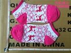 zhu ji socks manufacturer OEMservice bulk wholesale hot sale cheap price low cut ankle christmas socks for girls