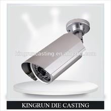 Aluminum die casting molded security cameras