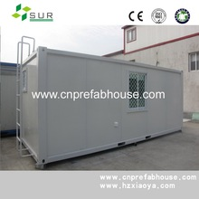 modular waterproof 20ft prefab container house for classroom