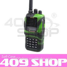 Best Price camouflage walkie talkie WOUXUN rubber case for radio