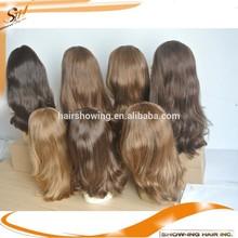 soft human hair stock jewish wig,jewish wig kosher wigs