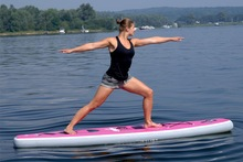 "Yoga and Fitness Paddle Boards/ Inflatable Stand-up Paddle Boards/Inflatable SUP/Aqua Marina FLOW(2.97m/9'9"")"