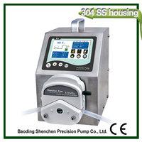 liquid nicotine dispensing peristaltic pump