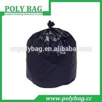 Plastic Material Trash Bags Bin Liners Refuse Bags Drawstring Garbage Bags
