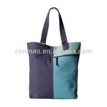 fun color heavy duty canvas beach tote bags