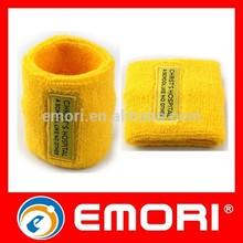 Top quality Custom Embroidery Logo Elastic Soft Table tennis Arm Sweatbands