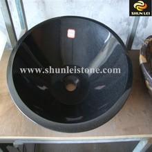 Hot Sell Shanxi Black Granite Bathroom Composite Granite Sink