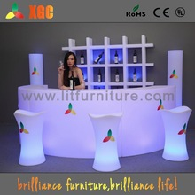 illuminated furniture& illuminated bar counter& illuminated bar table