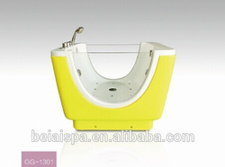 China manufacture pet grooming tubs/hot tubs made in china