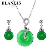 yiwu jewelry,Imitation jade fashion jewelry set ,fashion jewelry