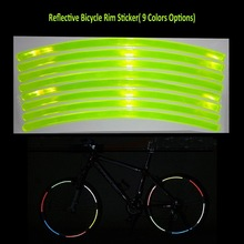 Yellow Bicycle Wheel Reflectors for Night Safety