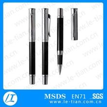 LT-W778 Hot selling cheap OEM logo promotional metal gel ink pen