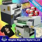 3d photo t-shirt printer/flatbed t-shirt printing machine