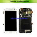 pezzi di ricambio per Samsung Galaxy Note 2 n7105 lcd con digitalizzatore