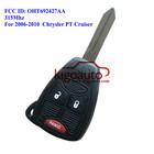 High quality Remote key 2B+panic for Chrysler PT Cruiser