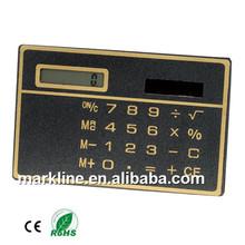promotion Solar powered super thin pocket calculator