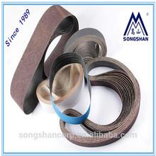 Aluminum oxide J-terylene+cotton- joint abrasive belts-- sanding belt China factory