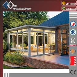 reasonable price aluminum glass sunroom