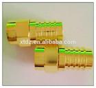 F Connector Plug/Jack Straight gold plating