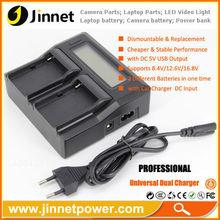 Promotional Portable Dual USB Car Charger for Panasonic D08S D16S D28S VBG6 DU07 DU14 DU21 DU06
