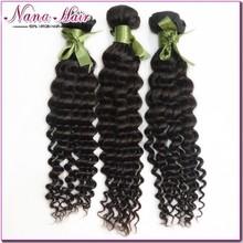 Top quality Nana beauty hair factory price Mongolian deep wave 100% mongolian wet and wavy hair