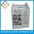 Guangzhou factory custom fancy corrugated paper box