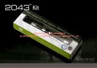 Justfog Electric cigarette Justfog 2043 Starter Kit /black justfog 2043 clearomizer booster kit full stock&factory price