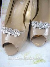 Bridal wedding Clips Rhinestone Shoe jewelry wedding Crystal Shoe accessories