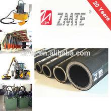 ZMTE Oil Transfering Hydraulic Hose/ Flexible Rubber Spiral Pipe