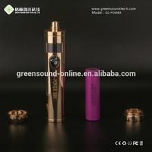 South Korea ecigarette manufacturer full mechanical battery mod wholesale 35w adjustable wattage GS Power 35W mod