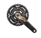 Carbon fiber bike crankset, 22T/32T/44T, 170MM Crankarm