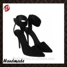 women black lace high heel sandal
