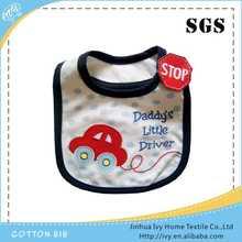 Custom cotton baby bibs baby bibs polyester cotton bib overalls
