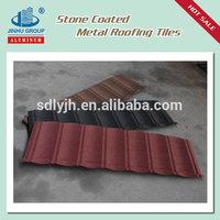 Manufacturer of alu-zinc steel stone coated roof tile
