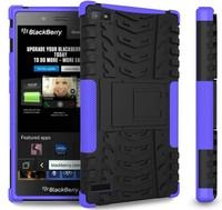 2 in 1 armor case for blackberry z3 with belt clip rubberized case for blackberry z3