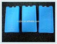 OEM plastic blue gel thermal PE material ice brick,vaccine transport cooler box for transportation